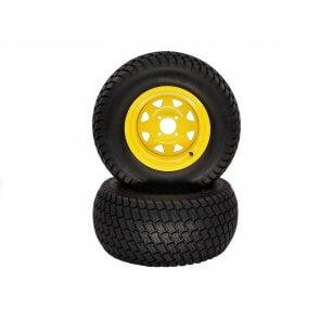 Part# 20106 - John Deere Wheel Assemblies 26x12.00-12 Turf Yellow