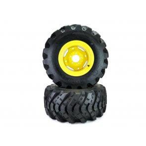Part #XT39610 - John Deere Aggressive Tread Wheel Assemblies 26x12.00-12