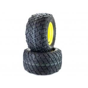 Part# 17309K3012 Reaper K3012 Heavy Duty Turf Tire Assemblies 24x12.00-12 John Deere ZTrak Pro Yellow