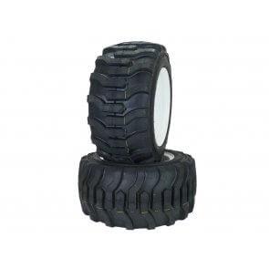Part #R450751 - Walker Pneumatic R4 Tire Assemblies 18x8.50-10 White
