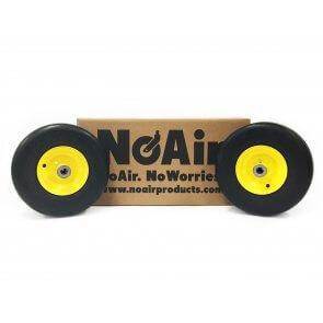 Part #01589 - John Deere Flat Free Tire Assemblies 11x4.00-5 Yellow