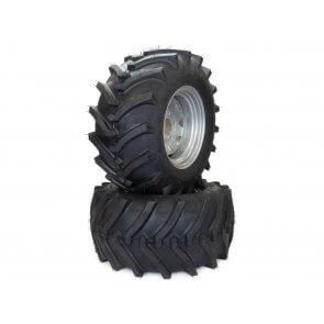 Part #LT606968 - Hustler Lawn Trac Rear Tire Assemblies 24x12.00-12