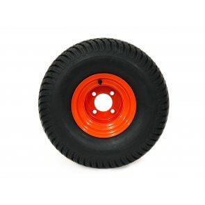 Part #60050 - Bad Boy Pneumatic Rear Tire Assembly 20x10.00-8 Orange