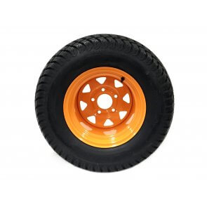 Part #84024 - Scag Pneumatic Rear Tire Assembly 24x12.00-12 Orange