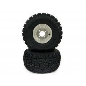 Part #TT00513 - Gravely Ariens Terra Trac Pneumatic Rear Tire Assemblies 20x10.00-8