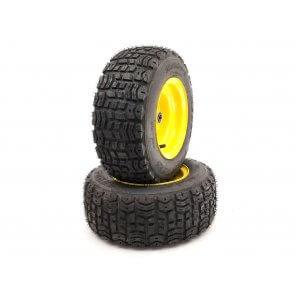 Part #TT20563 - John Deere Pneumatic Tire Assemblies 16x6.50-8 Yellow