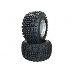 Part #TT60530 - Hustler Wheel and Tire Assemblies 22x11.00-10