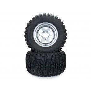 Part #TT606969 - Hustler Terra Trac Rear Tire Assemblies 24x12.00-12