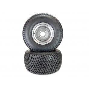 """Part# 72210 Turf Tire Assemblies Assemblies 22x11.00-10 Gravely Ariens HD ZX Apex Zenith 52"""" - 60"""" Dark Gray"""