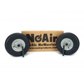 #00124 - Gravely Ariens Flat Free Tire Assemblies 11x4.00-5 Light Gray