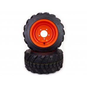 Part #XT25610 - Kioti Aggressive Tread Front Wheel Assemblies 18x8.50-10