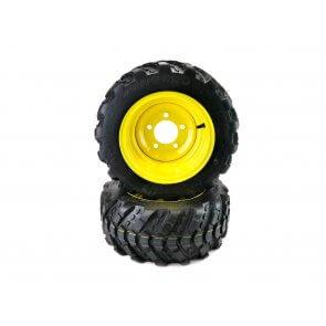Part #XT33610 - John Deere Aggressive Front Wheel Assemblies 18x8.50-10