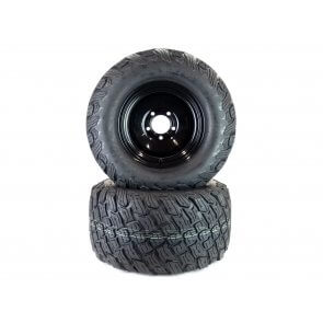 Part# 22405K3012 Reaper K3012 Heavy Duty Turf Tire Assemblies 24x12.00-12 Bad Boy Black