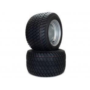 Part #31606 - Hustler Turf Tire Assemblies 18x10.50-10