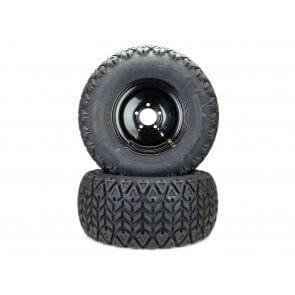 Part# 350M19042 Bad Boy All Terrain Tire Assemblies 26x12.00-12 Black