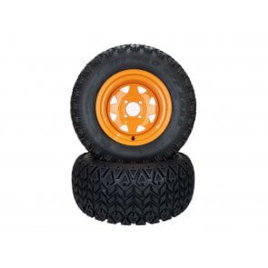 "(2) All Terrain Tire Assy 23x10.50-12 Fits Scag Cougar Tiger Cub 52"" Rpls 482413 482414"